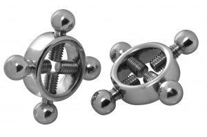 Rings Of Fire Stainless Steel Nipple Press Set